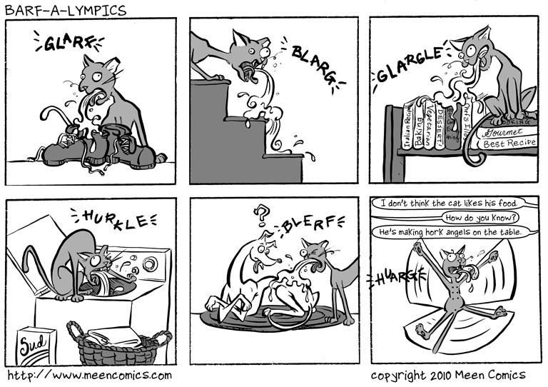 Barf-a-lympics