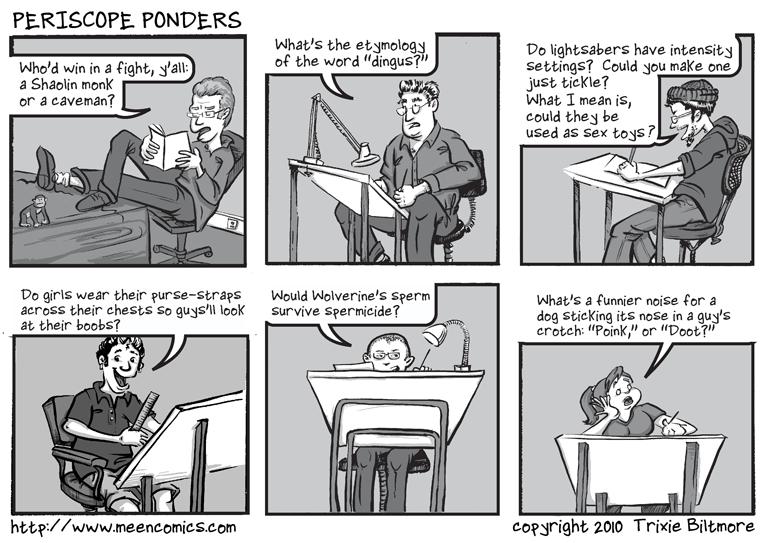 Periscope Ponders