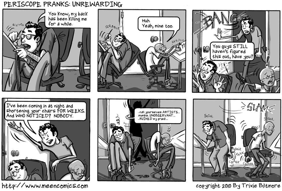 Periscope Pranks: Unrewarding